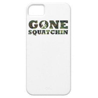 Gone Squatchin Camouflage iPhone 5 Case