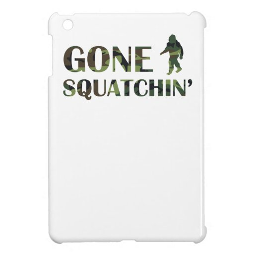 Gone Squatchin' Camouflage Cover For The iPad Mini