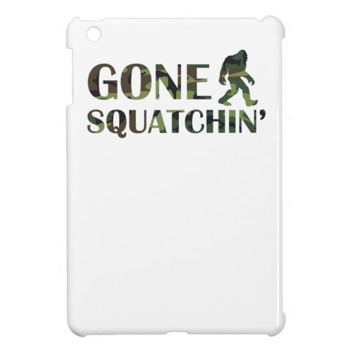 Gone Squatchin' Camouflage iPad Mini Covers