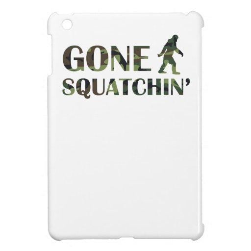 Gone Squatchin' Camouflage iPad Mini Case