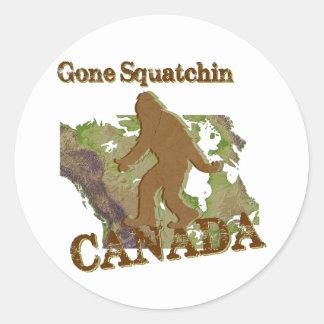 Gone Squatchin - Canada Stickers