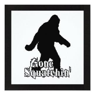 Gone Squatchin' Card