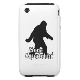 Gone Squatchin' Tough iPhone 3 Cases