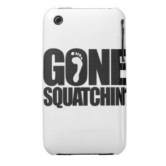 GONE SQUATCHIN' iPhone 3 Case-Mate CASE