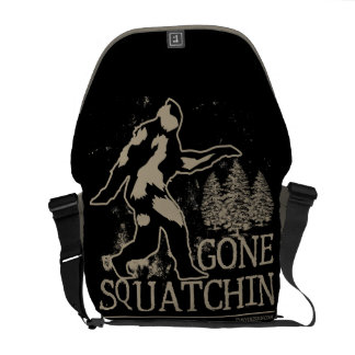 Gone Squatchin Courier Bags