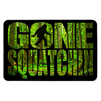 Gone Squatchin *Deep Forest Edition* Magnet