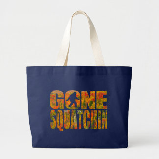 Gone Squatchin Deep Forest Tote Bag