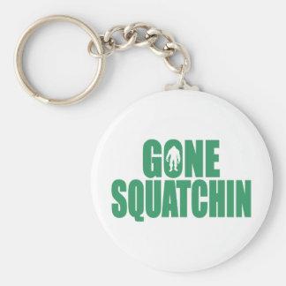 GONE SQUATCHIN Deluxe Bobo Gear Finding Bigfoot Keychain