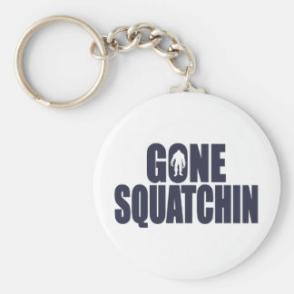 GONE SQUATCHIN *Deluxe* Bobo Gear Finding Bigfoot Key Ring