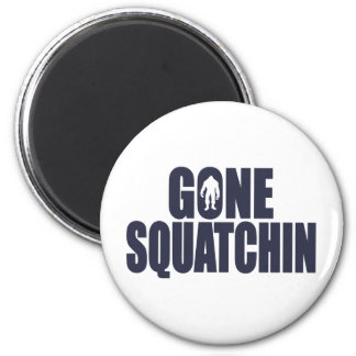 GONE SQUATCHIN Deluxe Bobo Gear Finding Bigfoot Magnets
