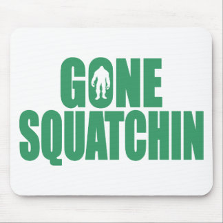 GONE SQUATCHIN *Deluxe* Bobo Gear Finding Bigfoot Mouse Mat