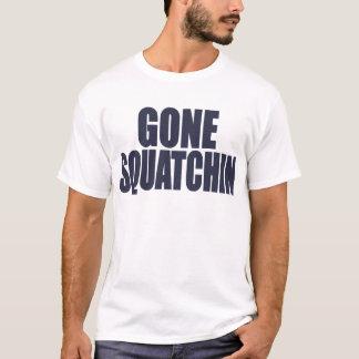 GONE SQUATCHIN *Deluxe* Bobo Gear Finding Bigfoot T-Shirt