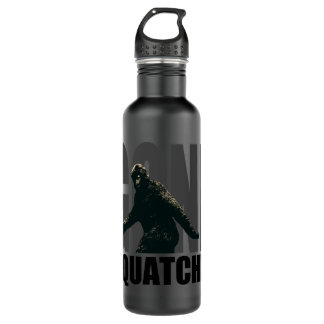 Gone SQUATCHIN - Deluxe Version 710 Ml Water Bottle