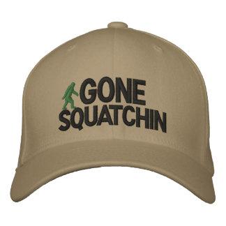 Gone Squatchin Deluxe version Baseball Cap
