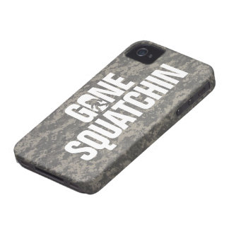 Gone Squatchin -  Digital Camouflage iPhone 4 Case