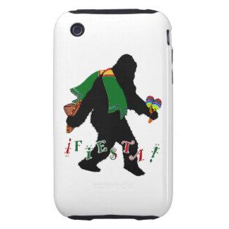 Gone Squatchin - Fiesta Squatchin iPhone 3 Tough Case