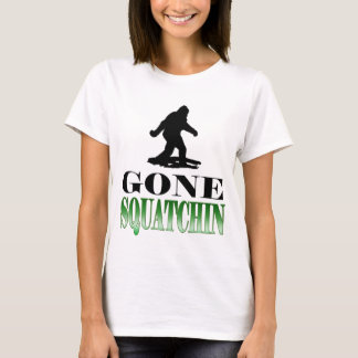 Gone Squatchin, Finding Bigfoot, Tee