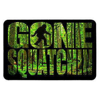 Gone Squatchin Forest Edition Flexi Magnet