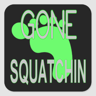 Gone Squatchin Gifts Stickers