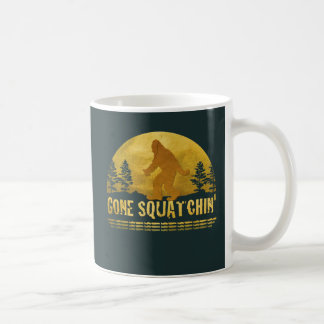Gone Squatchin' Green Coffee Mug