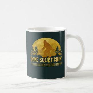 Gone Squatchin Green Coffee Mugs