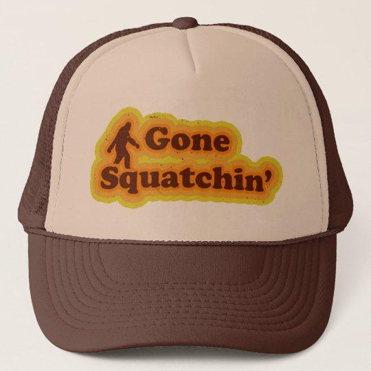 Gone Squatchin hat like Bobo