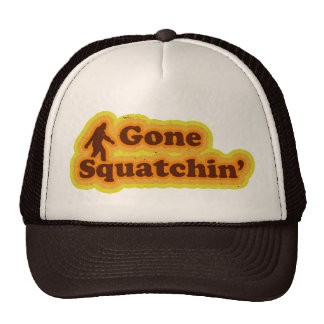 Gone Squatchin hat like Bobo