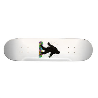Gone Squatchin In The New Year Custom Skateboard