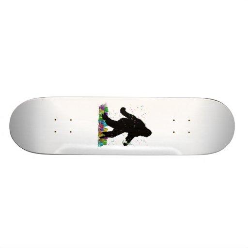 Gone Squatchin' In The New Year Custom Skateboard