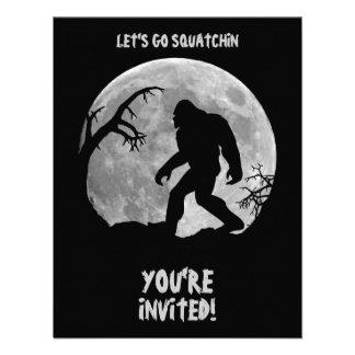 Gone Squatchin Custom Announcements