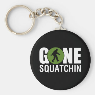 Gone Squatchin Key Ring
