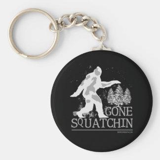 Gone Squatchin Key Ring