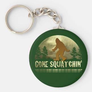 Gone Squatchin' Key Ring