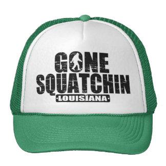 Gone Squatchin LOUISIANA Sasquatch Hat -distressed
