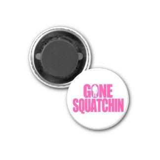 Gone Squatchin Refrigerator Magnet