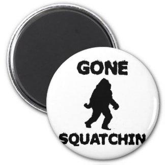 Gone Squatchin Fridge Magnets