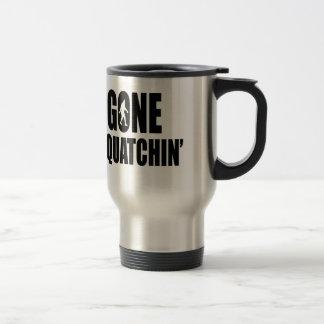 Gone Squatchin' Stainless Steel Travel Mug