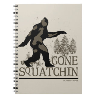 Gone Squatchin Notebooks
