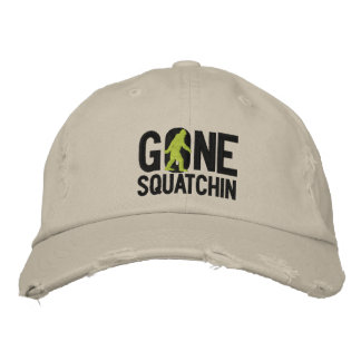 GONE SQUATCHIN O embroidered cap