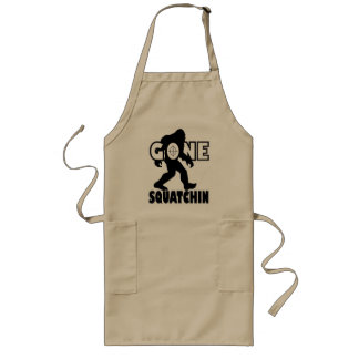 Gone Squatchin on Target Long Apron