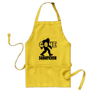 Gone Squatchin on Target Standard Apron