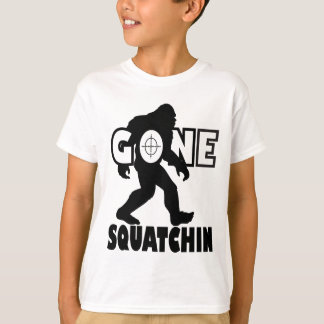 Gone Squatchin on Target T-Shirt