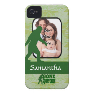 Gone squatchin photo template iPhone 4 cases
