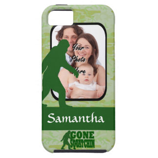 Gone squatchin photo template iPhone 5 cover