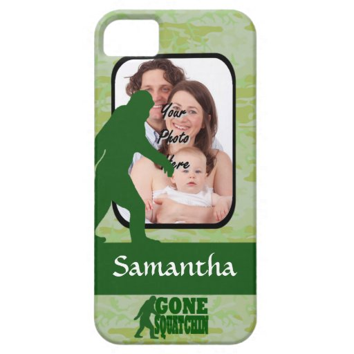 Gone squatchin photo template iPhone 5 covers