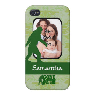 Gone squatchin photo template iPhone 4/4S covers