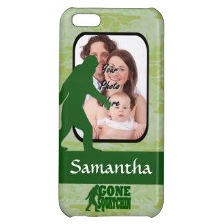 Gone squatchin photo template iPhone 5C case