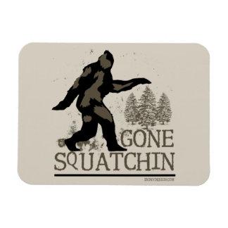 Gone Squatchin Flexible Magnet