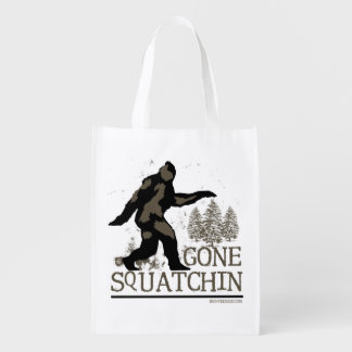 Gone Squatchin Reusable Grocery Bag
