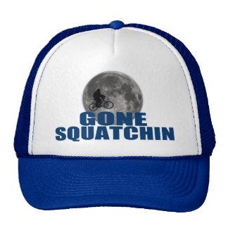 Gone Squatchin Sasquatch On Bike With Moon Hat